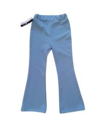 Licht Blauw flair broek  Kwaliteit is top zachte stof en veel stretch heeft de broek mooie pasvorm