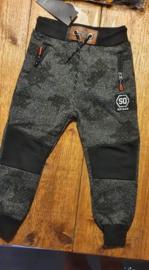 Zwart/grijs voor boy )LIMITED EDITION SQUARED & CUBED JOGGERS   Waanzinnig coole jogg pant in stoere print, met elastische boord en aanrijgkoord voor optimale pasvorm!