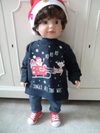 Kersttrui BABY Arreslee Blauw