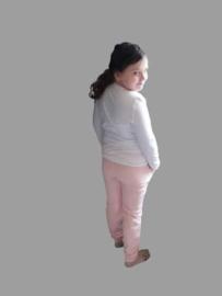Deze leuke broek zalm roze  Heerlijke Comfy broek van fijne joggingsstof en steekzakken