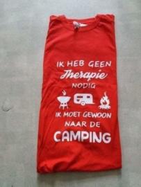 T/shirt Rood  Maat L