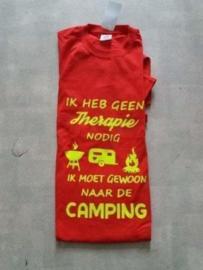 T/shirt Rood  maat M