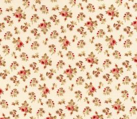 Quiltstof Bed of Roses - Gerri Robinson