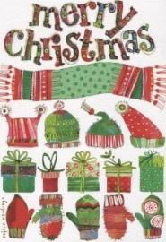 Kerstkaart Merry Christmas #1
