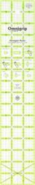 "Omnigrid liniaal 3""x 16""  (7,62 x 40,64 cm)"