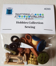 Sewing Button Bag