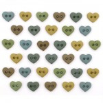 Mini Hearts Earthtones