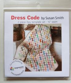 Acryl Template Bow tie - Susan Smith