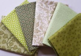 Quilt Stofpakket groen