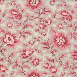 Quiltstof Le Bouquet Francais, French General for Moda 6214