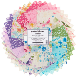 Charm Pack Natural Blooms by Wishwell for Robert Kaufman
