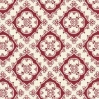 Quiltstof Make Do And Mend Sewing Foulard Red, Benartex