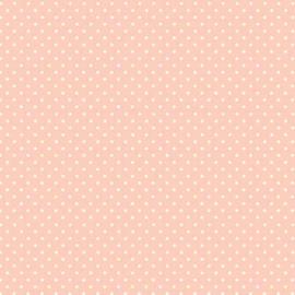 Quiltstof rose met witte stip 830-P1 - Andover Fabrics