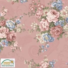 Quiltstof Ellie-Roses 4501-316