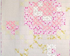 Cross Stitch applique template