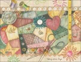 Ansichtkaart The Blessing Quilt
