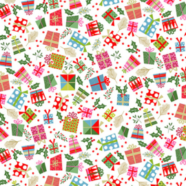Quiltstof Let It Snow Presents 2240-01