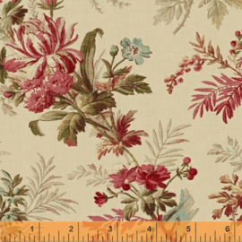 Quiltstof Gabrielle 36428-2 Cream - Mary Koval