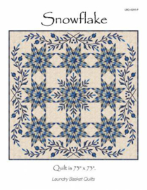 Snowflake - Laundry Basket Quilts by Edyta Sitar
