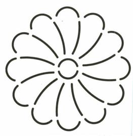 """Mini Floral 4½""""  (11.4 cm)"""