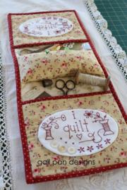 i stitch i quilt (armchair caddy)