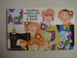 Magneet Quilting warms our hearts & souls