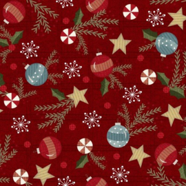 Quiltstof Flanel Snow Days 9934-R - Bonnie Sullivan