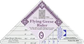 Flying Geese Ruler