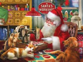Puzzel Santas Quilting Workshop