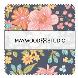 Charm Pack Sunlit Blooms - Maywood Studio