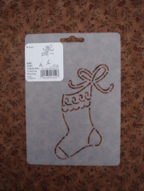 "Christmas Stocking 3""x5"" (7.6 x 12.7 cm)"