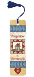 Boekenlegger Happiness is Homemade