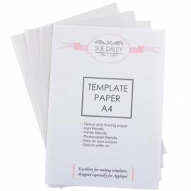 Template papier - Sue Daley