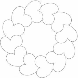 Amish Circle of Hearts
