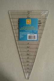 EZ 30° Triangle Ruler