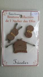 Knoopjes breien #016
