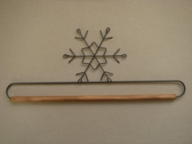 Quilthanger Sneeuwvlok, 30 cm breed