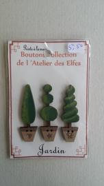 Knoopjes drie bomen #022
