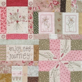 Journey of a Quilter -  Block of the Month