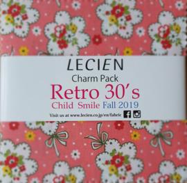 Charm Pack Retro 30's Child Smile - Lecien