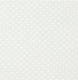 Quiltstof Stof A/S ivoorkleurige stof met klein bloemetje 313-001