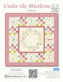 Quiltstof Under the Mistletoe - Hatched and Patched 8331-44