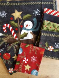 Quilt Panel stofpakket Flanel Snow Days #2 - Bonnie Sullivan