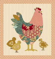 Hen House Pillow - Laundry Basket Quilts