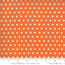 Quiltstof Squirrelly Girl Pumpkin 2976-19 - Bunny Hill Designs