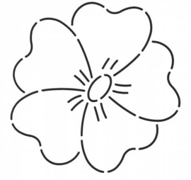 """Flower 5"""" (12.7 cm)"""