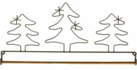 Quilthanger 3 Kerstbomen, 30 cm breed