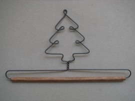 Quilthanger Kerstboom, 15 cm breed