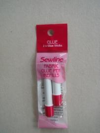 Sewline Glue Refill  blauw