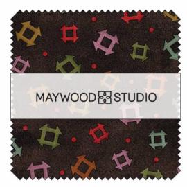 Charm Pack Home Sweet Home Flannel - Maywood Studio